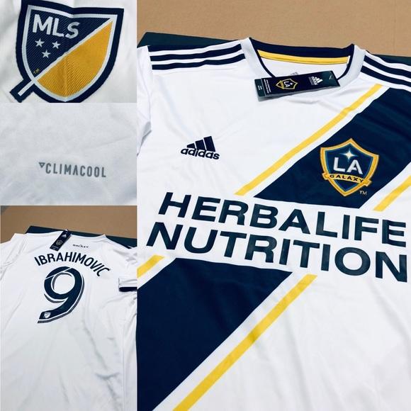 a5937eaec 2018 Zlatan Ibrahimovic  9 LA Galaxy Soccer Jersey. NWT. adidas